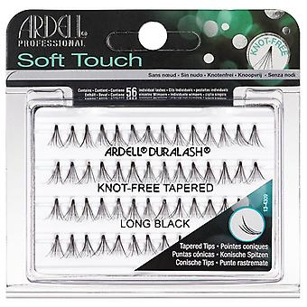 Ardell Duralash Soft Touch Knot Free Tapered Lashes - Long Black - Lightweight
