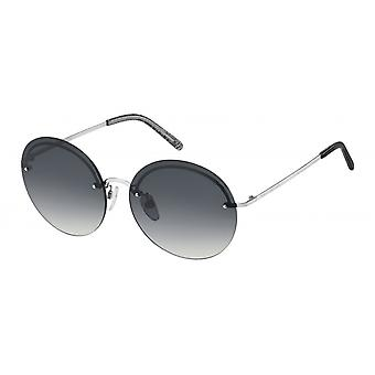 Sunglasses Women's borderless silver/grey
