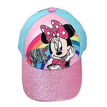 Czapka bejsbolowa-Disney-Myszka Minnie Rainbow Kids/Girls nowy 386129
