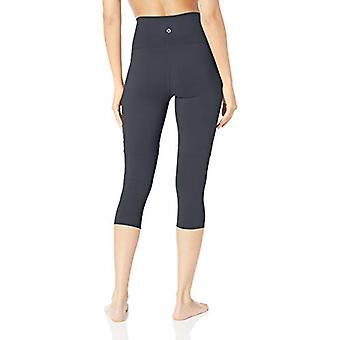 Brand - Core 10 Women's All Day Comfort High Waist Capri Yoga Legging ...
