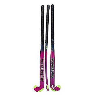 Kookaburra 2019 Street Series Fracture M-Bow 1.0 Junior Field Hockey Stick Pink