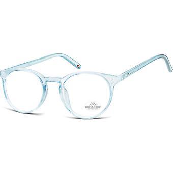 Lesebrille Unisex  HMR55 blau/transparente Stärke +3,50