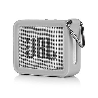 Portable Silicone Case Protective Travel Case- Soft Silica Gel Storage Pouch Audio Case For Jbl Go2 Bluetooth Speakers