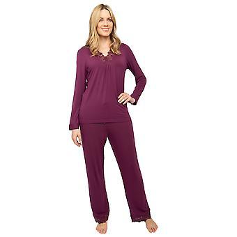Cyberjammies Nora Rose Jennifer 1452 Naiset&s Violetti Neulo pyjama set