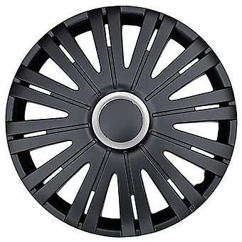 Hubcaps Texas RC 16 Zoll ABS schwarz Satz von 4