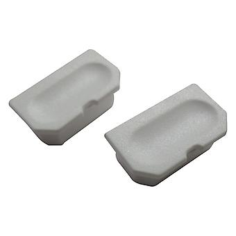 Replacement dust cap cover for game boy dmg-01 link port - white | zedlabz