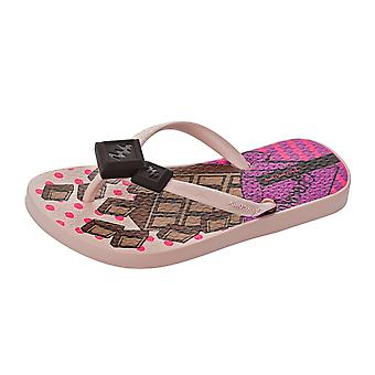 Ipanema Chocolate Girls Beach Flip Flops / Sandals - Nude