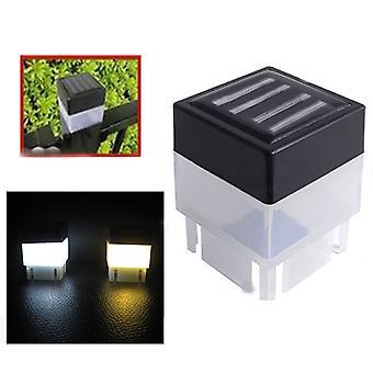 Solar Powered Hegn Post Led - Udendørs Led Square Light