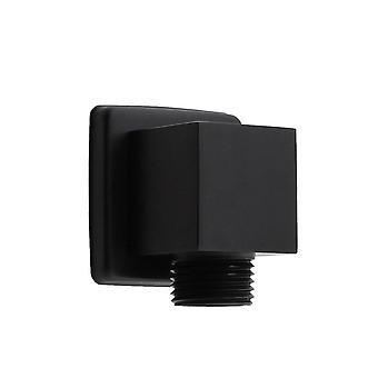 Chrome Shower Hose Connector,square Accessories- Wall Connector Bracket