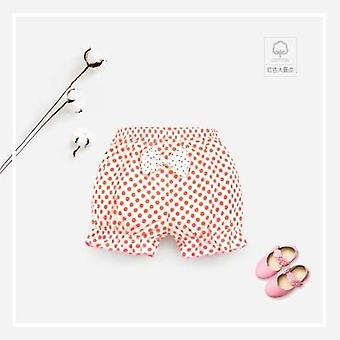 Baby Underwear Shorts Bow Polka Dots Striped, Newborn Baby Bread Pants Summer