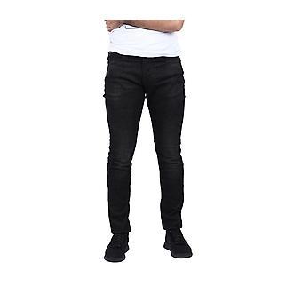 Emporio Armani Slim Fit Faded Black Jeans