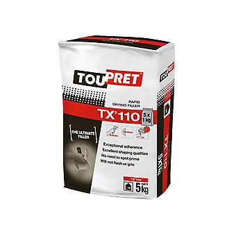 Toupret TX® 110 Rapid Drying Filler 5kg