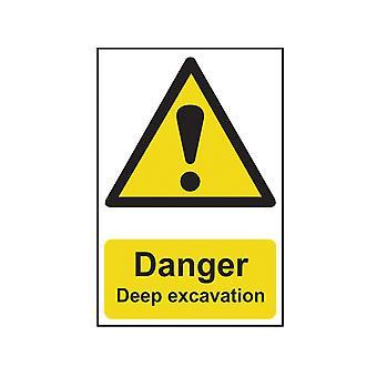 Scan Danger Deep Excavation - PVC 400 x 600mm SCA4103