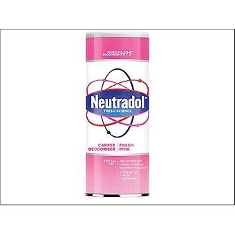 Neutradol Fresh Pink Carpet Deodoriser 350g 12RES