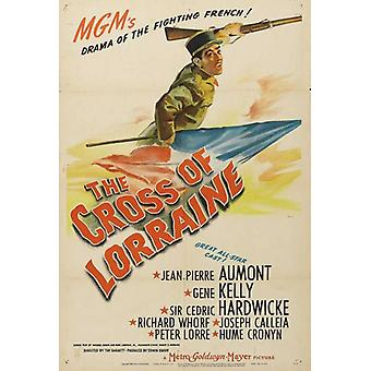The Cross of Lorraine Movie Poster (11 x 17)