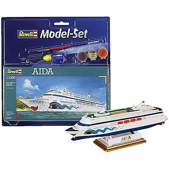 Revell 65805 Cruiseschip Aida Model Set