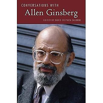 Samtaler med Allen Ginsberg (Litterære Samtaler Series)