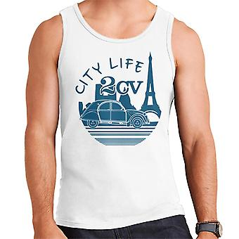Citro�n 2CV City Life Paris For Light Men's Vest