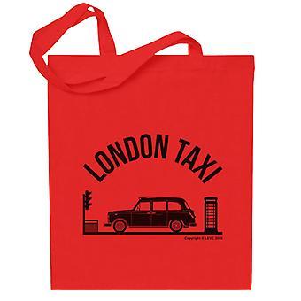 London Taxi Company TX4 At Traffic Lights Totebag