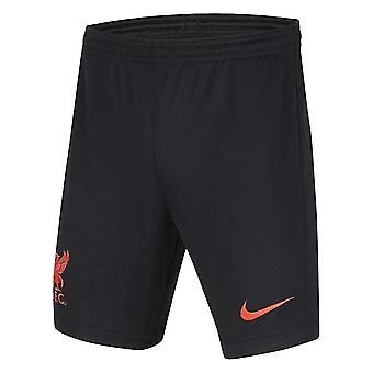 2020-2021 Liverpool 3rd Shorts (Black) - Kids