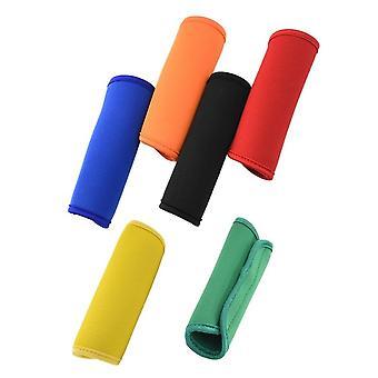 Comfortable Neoprene Luggage Handle Wrap Grip Soft Identifier Stroller Grip