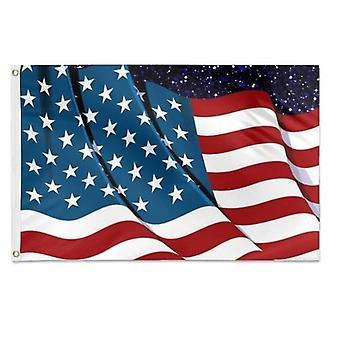 علم 2 الأمريكية 3x5 قدم