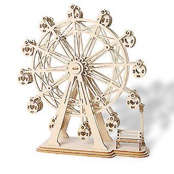 دليل DIY التجميع من نموذج عجلة فيريس