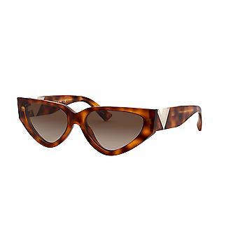 Gafas de sol Valentino VA4063 501113 Light Havana/Brown Gradient