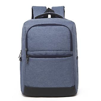 Universal Multi-Function Oxford Cloth Laptop Computer Shoulders Bag Business Backpack Students Bag, Size: 42x30x11cm, For 15.6 inch and Below Macbook,