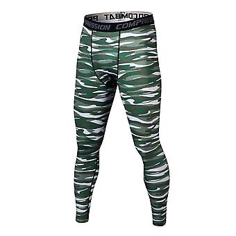 Summer Thermal Casual Pants Men Compression Tights Skinny Trousers