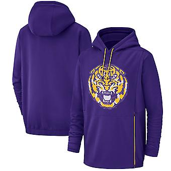 LSU Tigers Men's Performance Pullover Hoodie Top WYX041