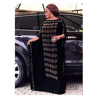 African Diamond Long Dashiki Dress
