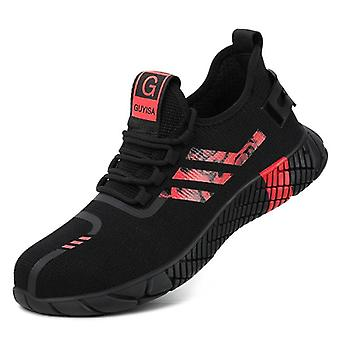 Safety Work Breathable Air Mesh Work Shoes