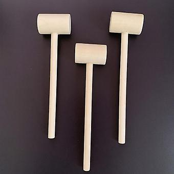 Solid Wood, Flat Head, Hitting Mallets, Hammers Educational Toy