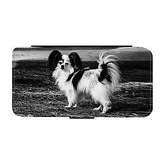 Papillon Hund iPhone 12 Mini Plånboksfodral