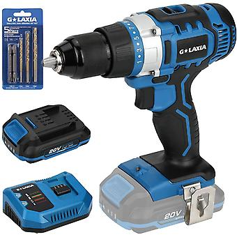 G LAXIA 2-Speed Cordless Drill Driver for Home Improvement & DIY Project