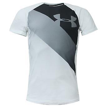 Under Armour Mens Microthread Vanish T-Shirt Training Gym Top White 1320671 100