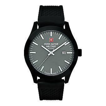 Schweiziska alpina militära 7055.1878SAM Mäns Watch