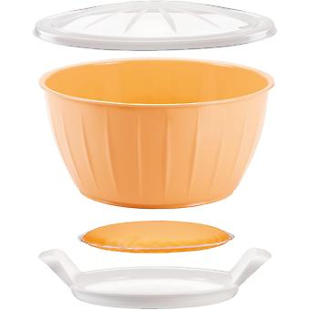 Tescoma Dough-Rising Bowl with Warmer  26 cm Delcia, Assorted, 26.6 x 14.2 x 26.5 cm