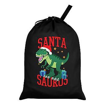 Grindstore Santa Saurus Dinosaur Christmas Santa Sack