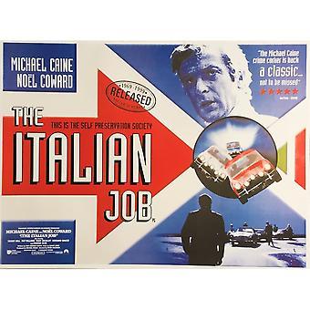Larrini The Italian Job Poster