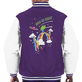 Trolls Good As Gone Rainbow Roller Skating Men's Varsity Jacket