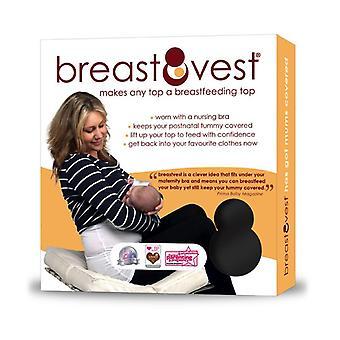 Breastvest čierna veľká