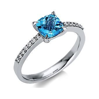 Luna Creation Promessa Ring Color Stone 1T771W852-1 - Ring width: 52.5