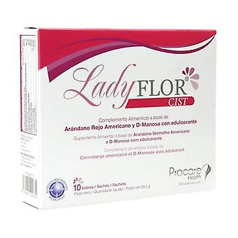 Ladyflor Cystitis 10 packets
