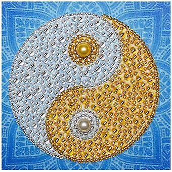 VDV Free Form Bead Embroidery Kit - Complimentarity of Opposites