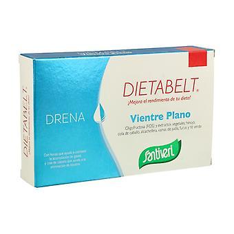 Dietabelt Flat Belly Drains 60 capsules