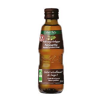 Organic Fair Trade Hazelnut Oil 250 ml of oil