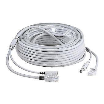 Kabel Cctv Rj45, zasilanie kamery Ethernet, kabel Cat-5 Lan Poe, kamera IP