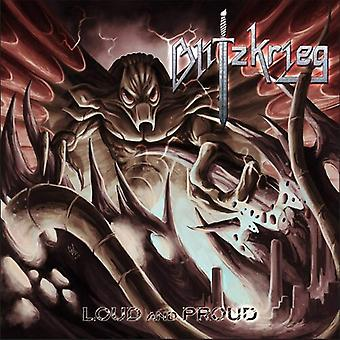 Blitzkrieg - Loud & Proud [Vinyl] USA import